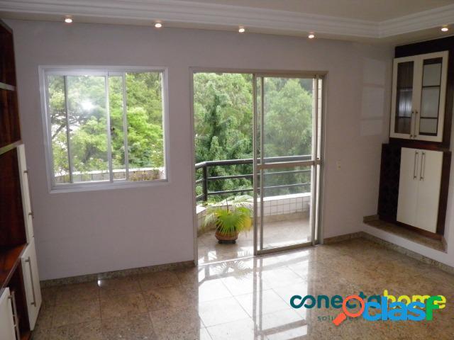 Apartamento de 116 m², 3 dormitórios c/ 1 suíte e 2 vagas na vila andrade