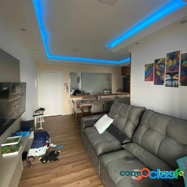 Apartamento de 58 m², 2 dormitórios, sacada gourmet, 1 vaga na Vila Formosa