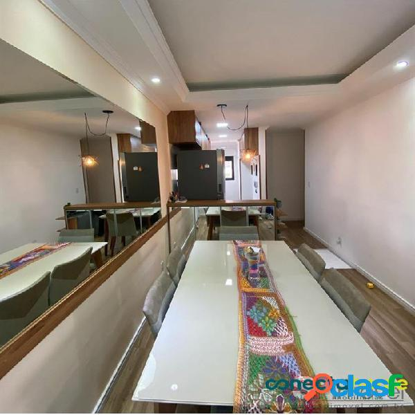 Apartamento de 58 m², 2 dormitórios, sacada gourmet, 1 vaga na Vila Formosa 1