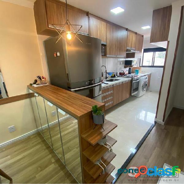 Apartamento de 58 m², 2 dormitórios, sacada gourmet, 1 vaga na Vila Formosa 3