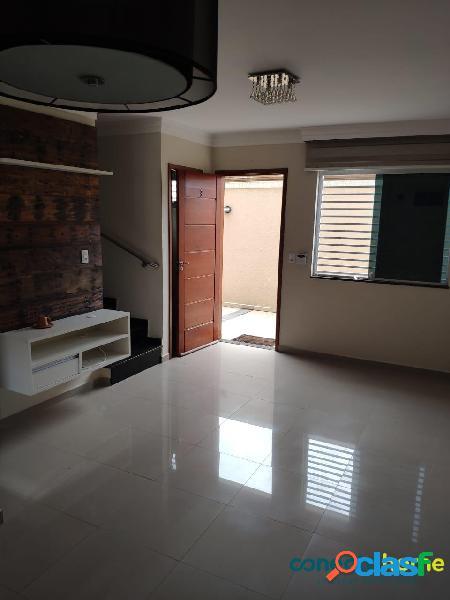 Sobrado de 85 m² em condomínio, 2 suítes e 2 vagas no tucuruvi