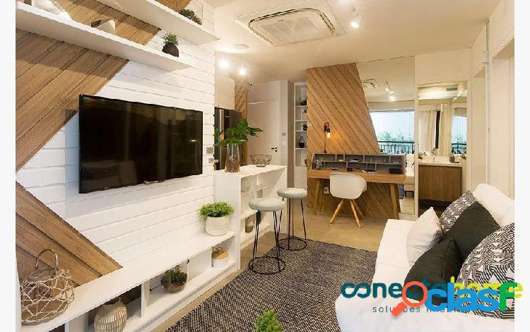 Apartamento de 33 m², 1 dormitório e 1 banheiro na vila mariana