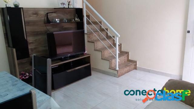 Sobrado de 80 m² em condomínio, 2 suítes e 1 vaga na vila carrão
