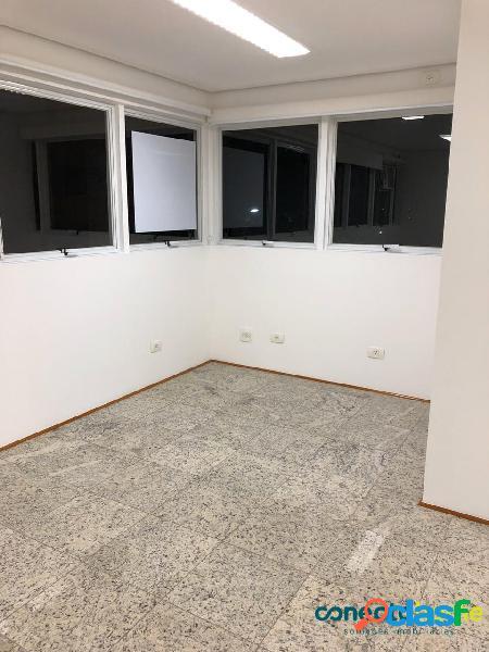Sala comercial de 27 m² e 1 banheiro no jardim paulista