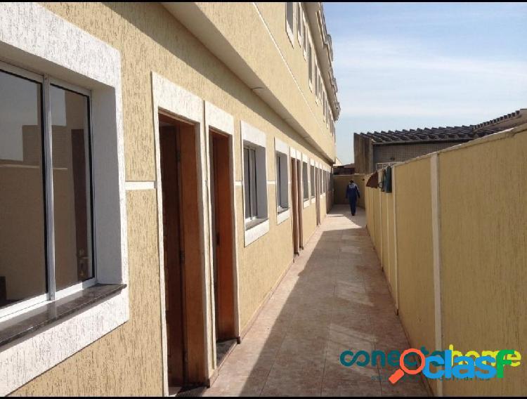 Sobrado de 62 m² em condomínio, 2 suítes e 2 vagas no cangaíba