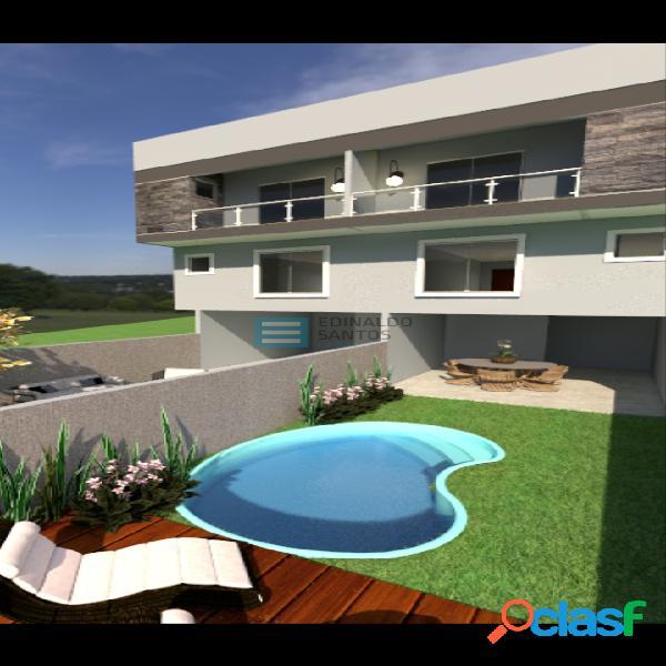 Edinaldo santos - casa duplex 2/4 suítes com varanda e quintal ref 717