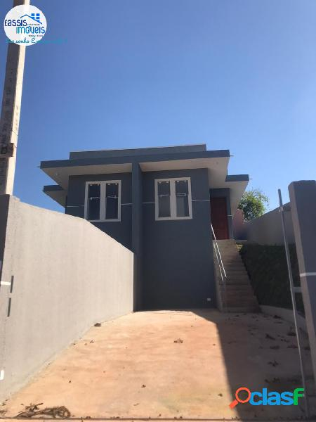 Casa nova pronta para morar 3 quartos próxima ao mercado paulo césar