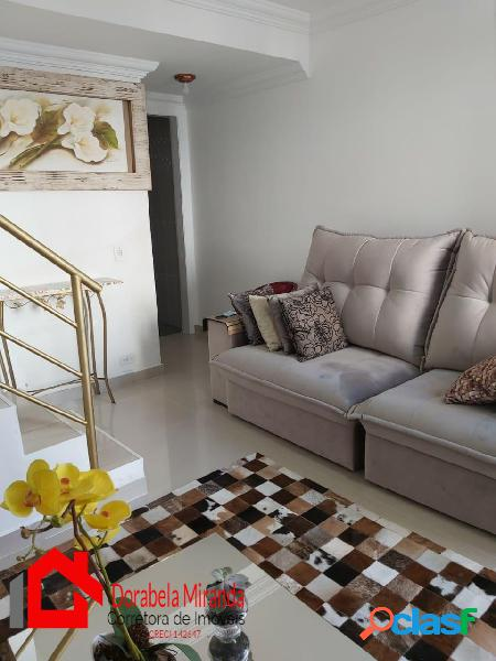 Casa 60 m² condomínio villa bella no horto do ipê campo limpo zona sul sp.