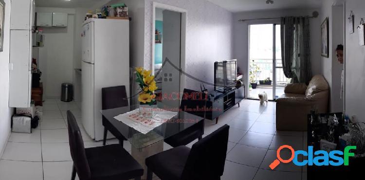 Apartamento condomínio mix aricanduva i- vista livre