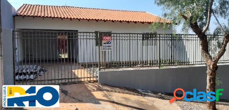 Casa a venda com 2 quartos 60 m² construção terreno 220 m²