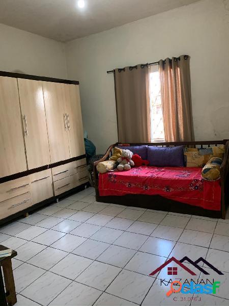 Casa 2 dormitórios com edicula em são vicente