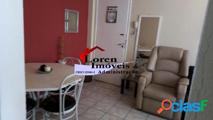 Apartamento 1 dormitório mobiliado gonzaguinha sv!