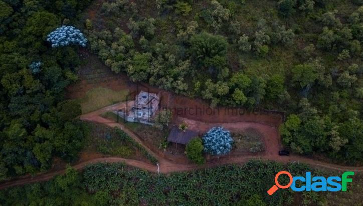 Chácara em Domingos Martins linda vista do horizonte para o nascente