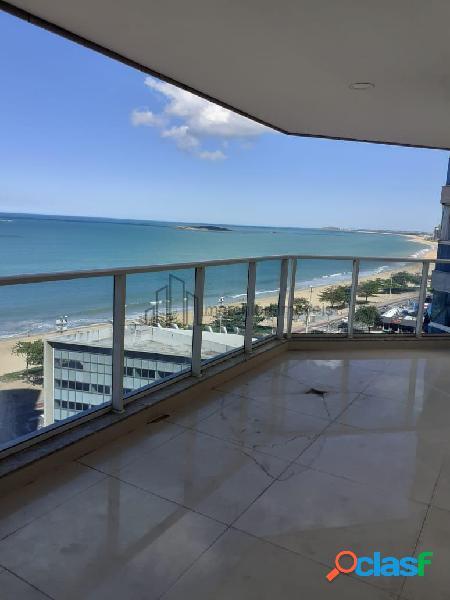 Apartamento 3 quartos com suite, 2 vagas garagem, lazer, vista para o mar.