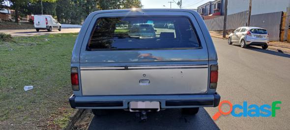 Chevrolet bonanza s luxe 4.0 diesel turbo cinza 1991 3.9 diesel