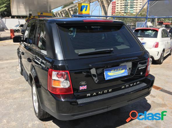 Land rover range rover sport se 2.7 190cv tb diesel preto 2008 2.7 v6 t diesel