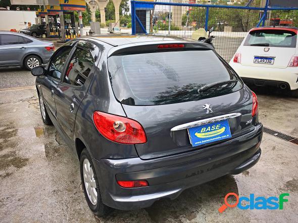 Peugeot 207 xr sport 1.4 flex 8v 5p cinza 2011 1.4 8v flex