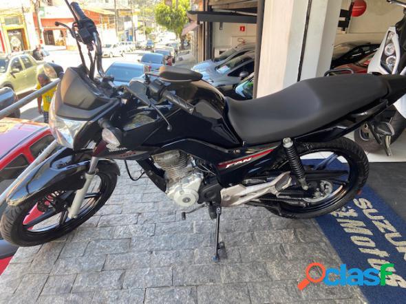Honda cg 160 fan esdi flexone preto 2016 160 flex