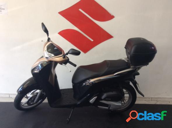 Honda sh 150i dlx preto 2019 150 gasolina