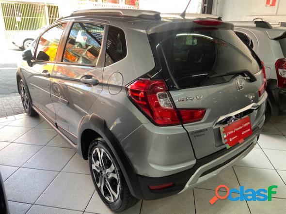 Honda wr-v exl 1.5 automatico flex prata 2019 1.5 flex