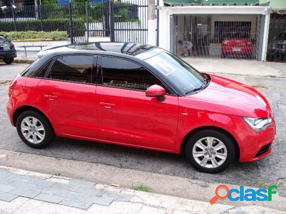 Audi a1 sportback 1.4 tfsi 5p s-tronic vermelho 2014 1.4 gasolina