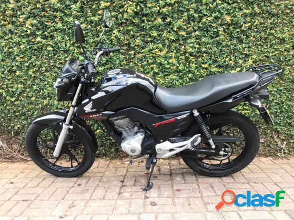 Honda cg 160 fan flex preto 2019 160 flex