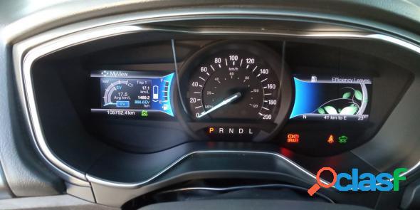 Ford fusion titanium hybrid 2.0 145cv aut. preto 2016 2.0 gasolina e eletrico