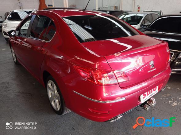 Peugeot 408 sedan feline 2.0 flex 16v 4p aut. vermelho 2012 2.0 flex