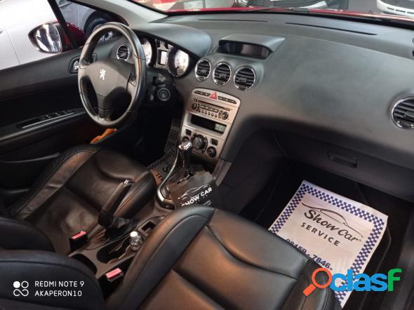 PEUGEOT 408 SEDAN FELINE 2.0 FLEX 16V 4P AUT. VERMELHO 2012 2.0 FLEX 1