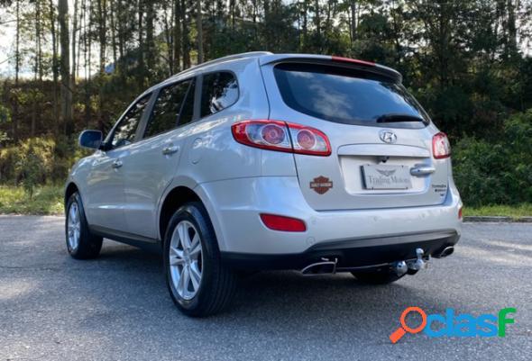 Hyundai santa fe gls 3.5 v6 4x4 tiptronic prata 2011 3.5 v6 gasolina