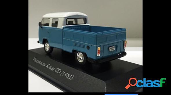 Volkswagen kombi pick-up azul 1981 1.6 gasolina