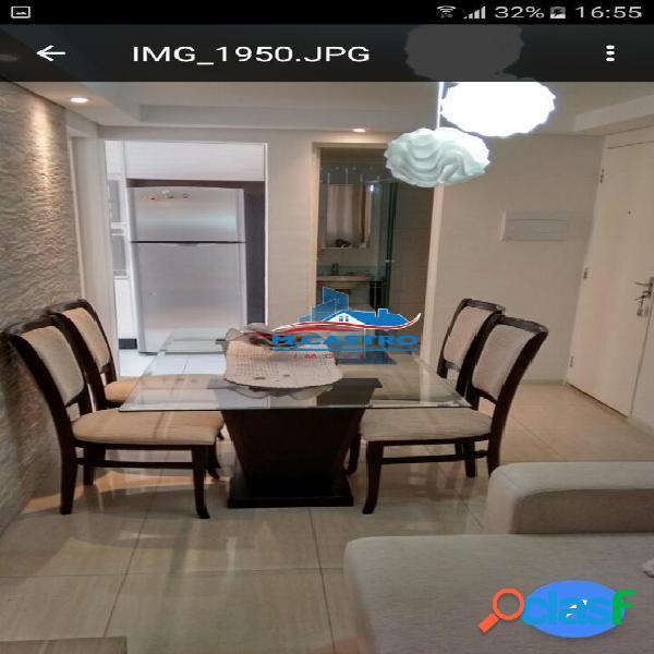 Apartamento c/ 3 dormitórios - 65m² - 5 minutos do metro campo limpo