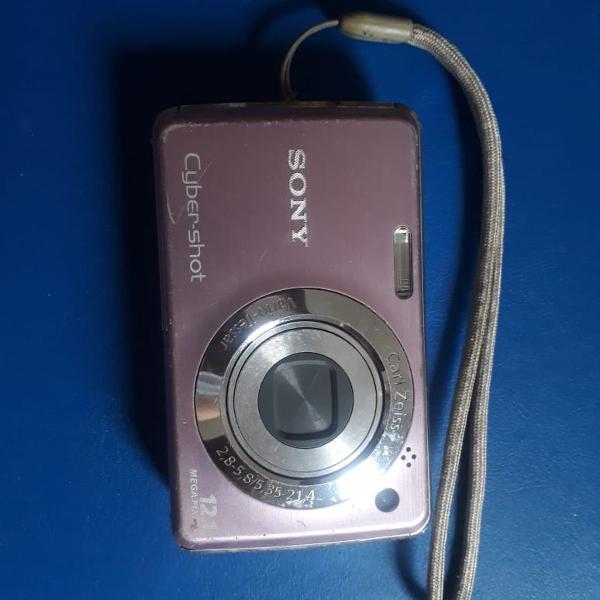 Câmera sony cyber shot dsc w210 12,1 megapixel