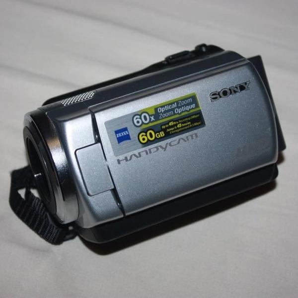 Filmadora digital sony dcr -r47 hd 60gb zoom 60x