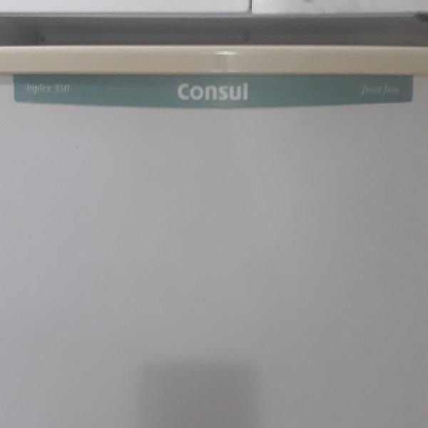Geladeira cônsul frost free biplex 350 litros