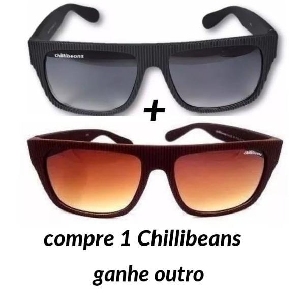 Kit 2 Óculos De Sol Chillibeans Preto Marrom Promoção