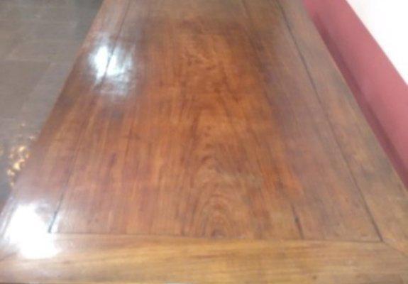 Mesa belíssima em madeira nobre 2,20 x 1,20
