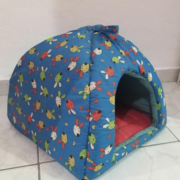 Toca/tenda iglu de pet gato/cachorro pequeno