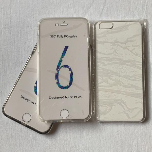 Capa para celular 360° frente e verso iphone 6 plus / 6s