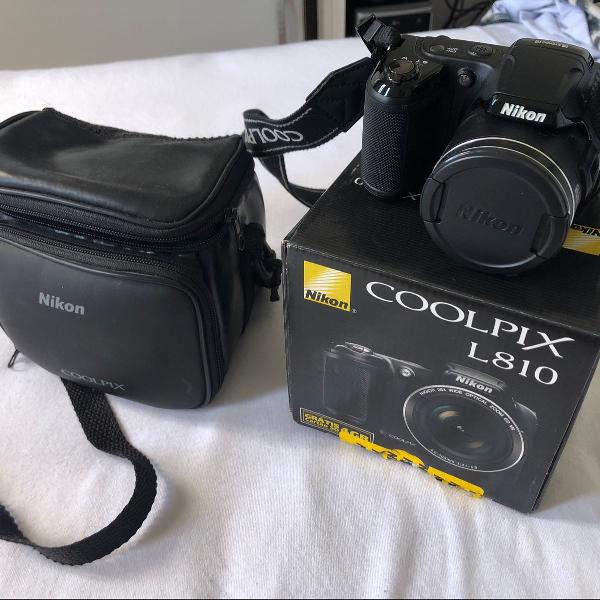 Câmera fotográfica nikon coolpix l810