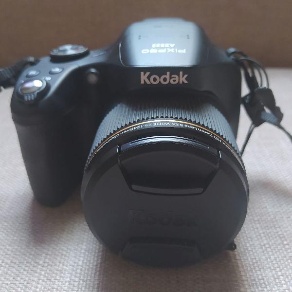Câmera semi profissional kodak pixpro az522