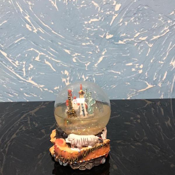 Globo de água comprado em las vegas