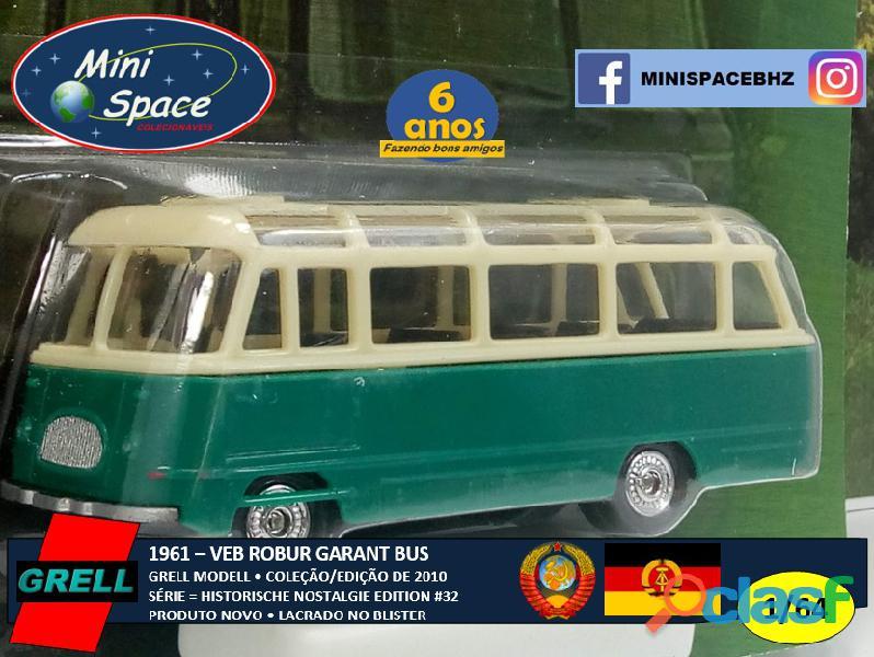 Grell modell 1961 veb robur garant bus 1/64