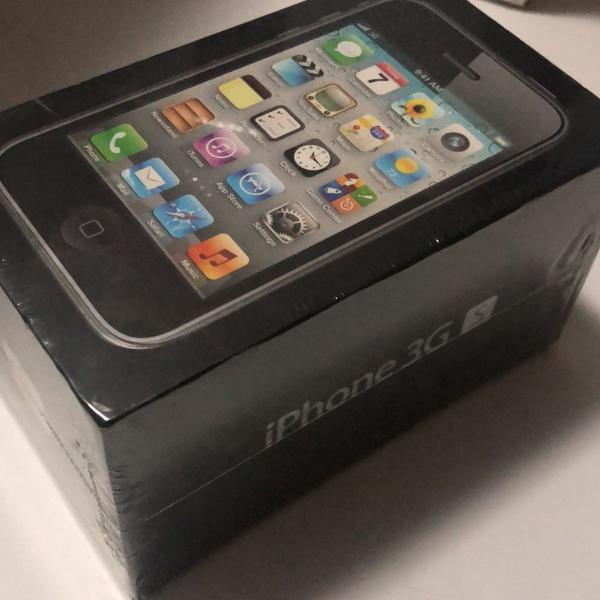 Iphone 3gs, black 8g lacrado - item de colecionador