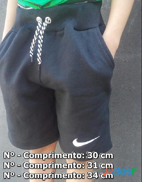 Shorts Bermudas Infantil Nº 6, 8 E 10 1