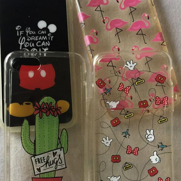 Kit de cases iphone 7