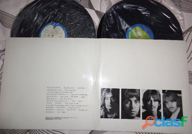 Lp beatles, álbum branco  duplo, completo