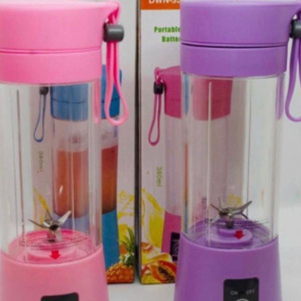 Mini liquidificador portatil shake n take juice cup