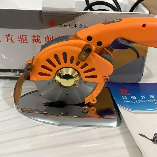 Máquina de corte tecidos e couro corte cheering rcs-100 (8)