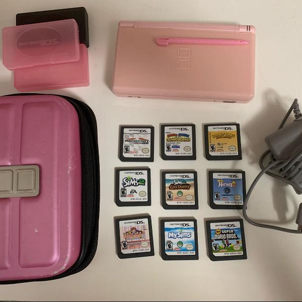 Nintendo ds lite completo